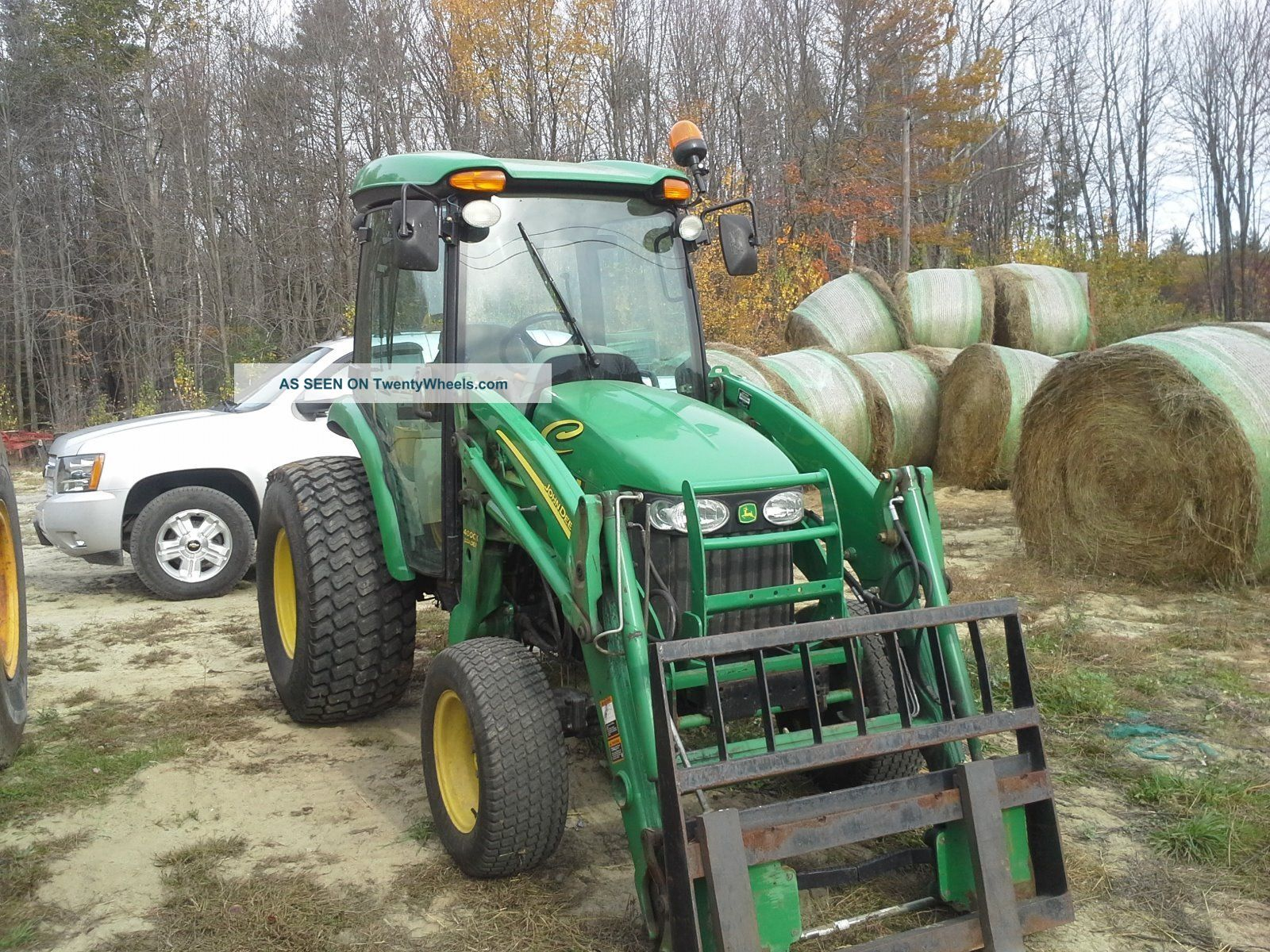 how to make forks for tractor bucket