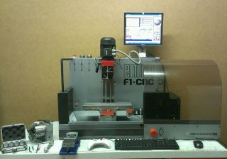 Converted Emco F1 Mill Cnc With 4th Axis Mach3 Control 3400rpm Spindle photo