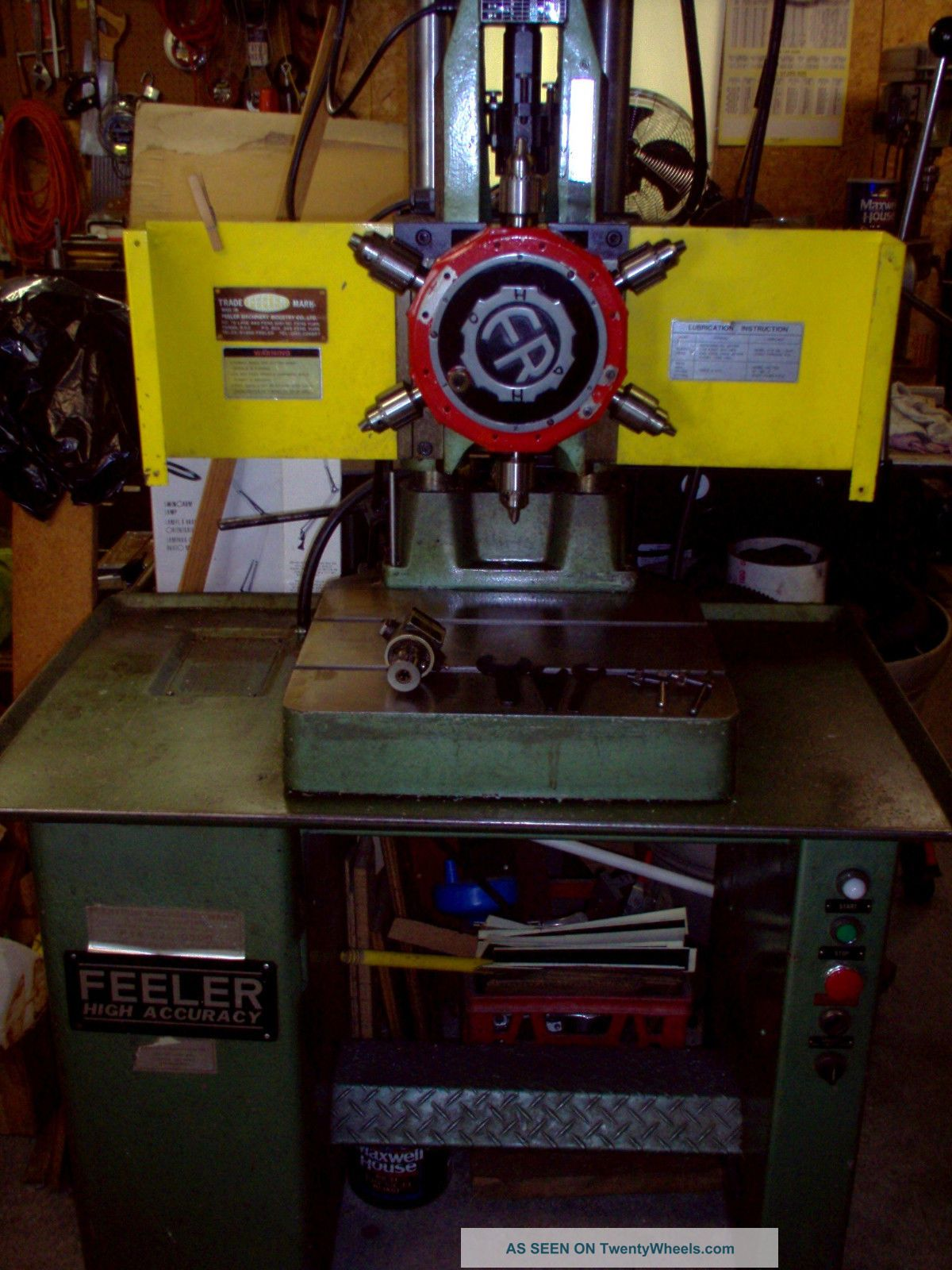 Feeler Precision 6 Spindle Turret Drill Press Drilling & Tapping Machines photo