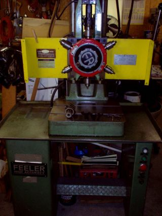 Feeler Precision 6 Spindle Turret Drill Press photo