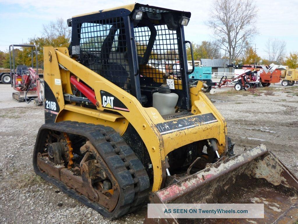 Track Skid Steer Loader : Cat track loader b caterpillar skid steer w tracks