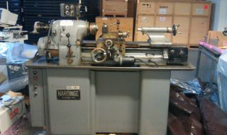 Hardinge Hlv - H Precision Tooling Room Turning Lathe photo