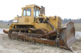 1987 Dresser Td25g Crawler Dozer Bulldozer photo