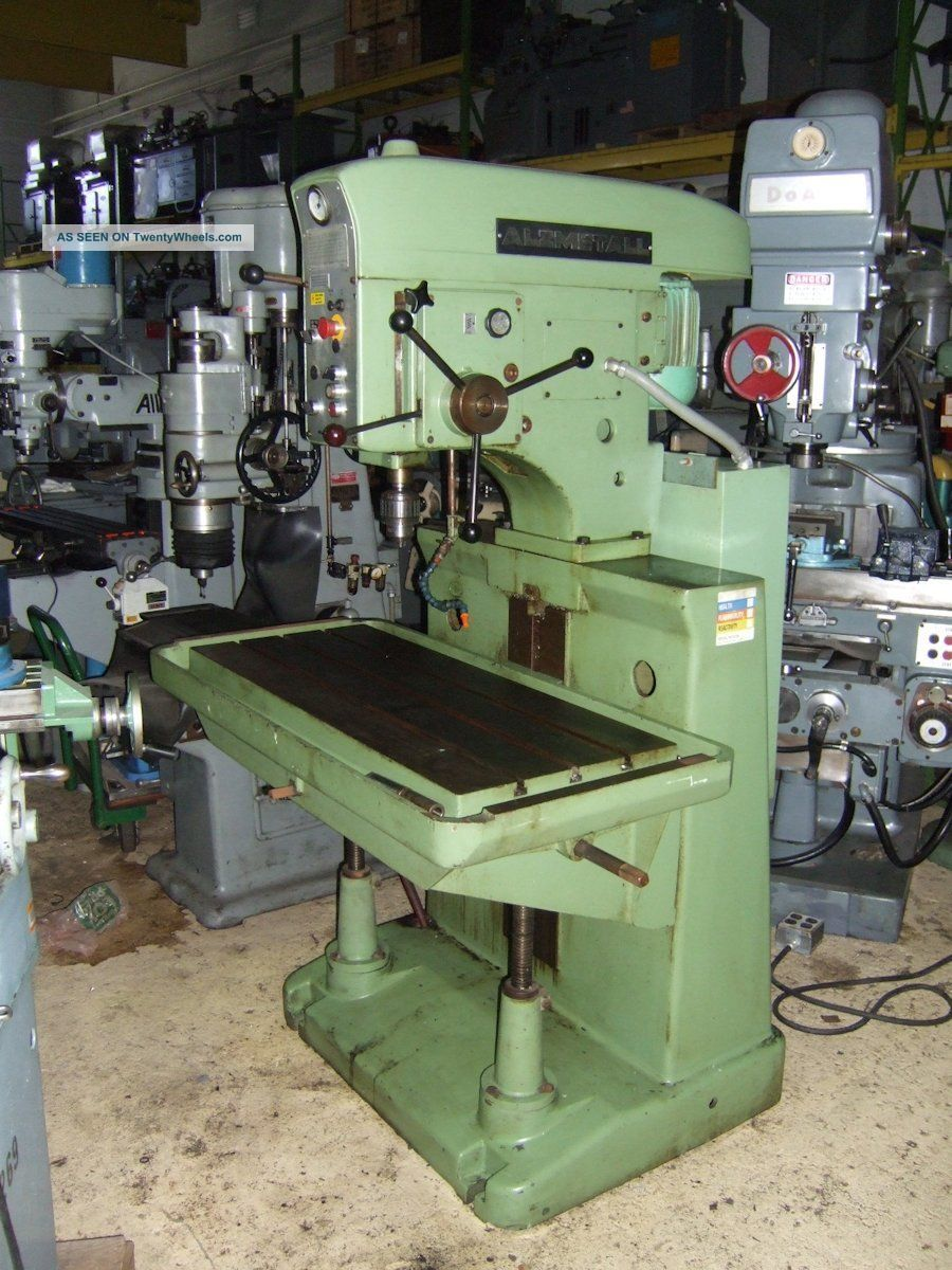 Alzmetall Ab4/sv Heavy Duty Drill Press - 12