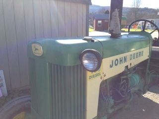Older Restoration John Deere 435 photo