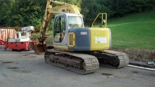 Kobelco 135srlc Excavator photo