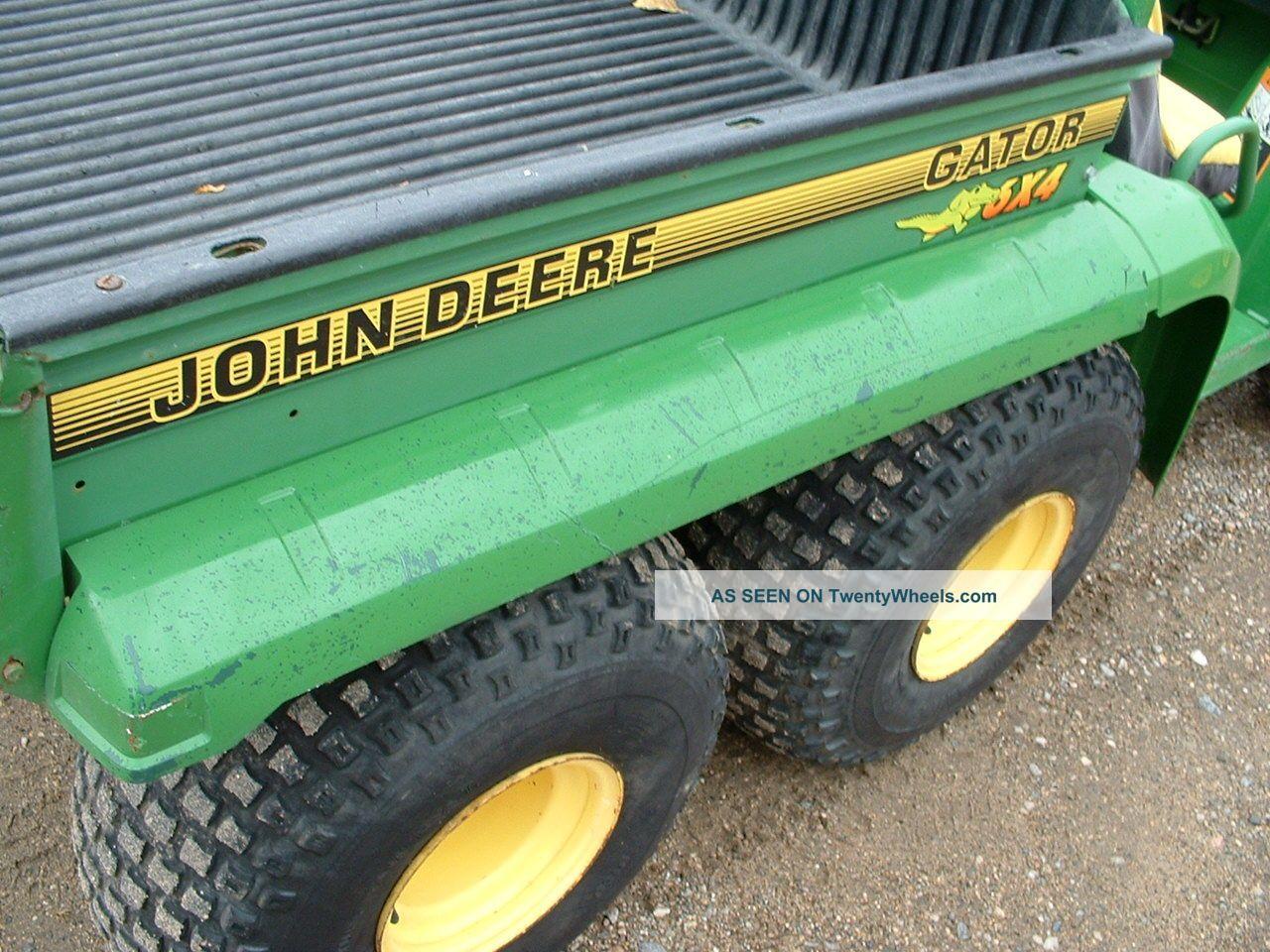 John Deere Gator Hpx Se Electric Diagram