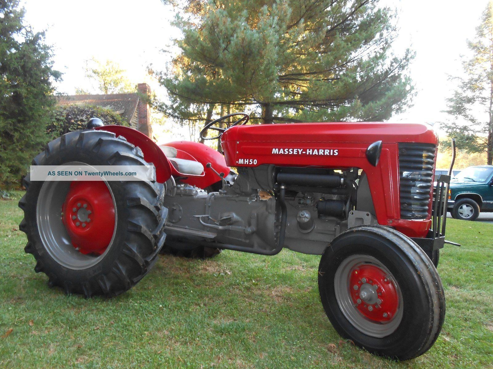 Massey Harris Tractor : Massey harris tractor