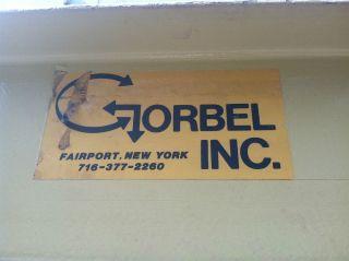 Gorbel 2 Ton Gantry Crane photo