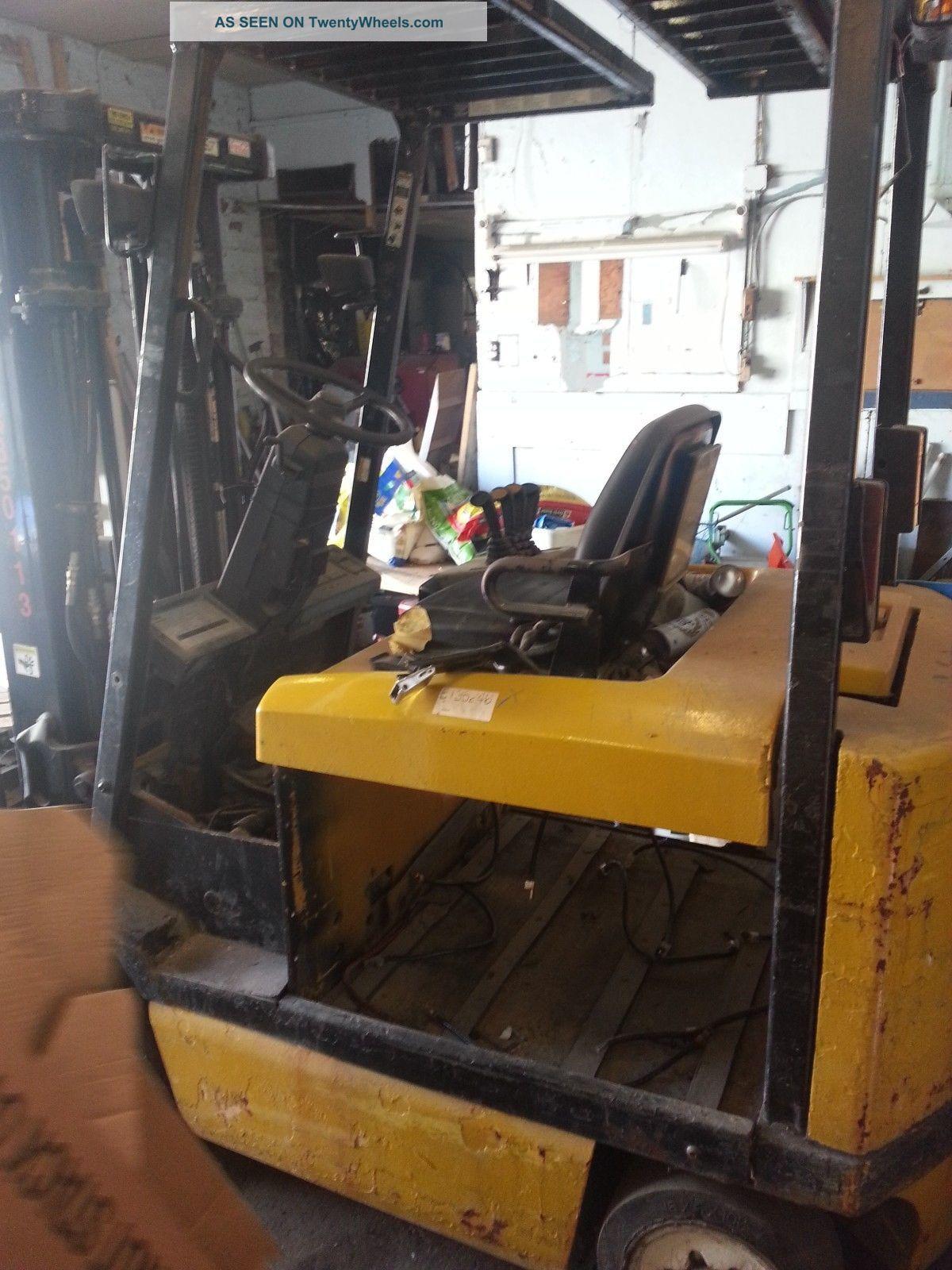 Four Way Side Loader Forklift Mitsubishi Rbm2025k Series: Yale Erc060 Electric Forklift 4800 No Battery Side Shift