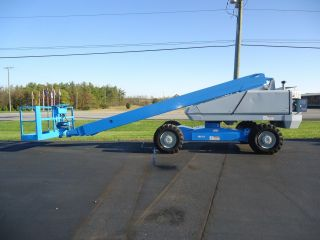 Snorkel Tba60 Boom Lift Manlift Man Lift Aerial Boomlift Tb80 Jlg Genie photo