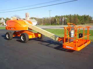 2005 Jlg 400s Boom Lift Manlift Man Lift Aerial Straight Stick Boomlift photo