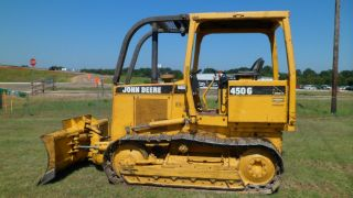 1997 John Deere 450g Series Iv Bulldozer Crawler 2703 Hours photo