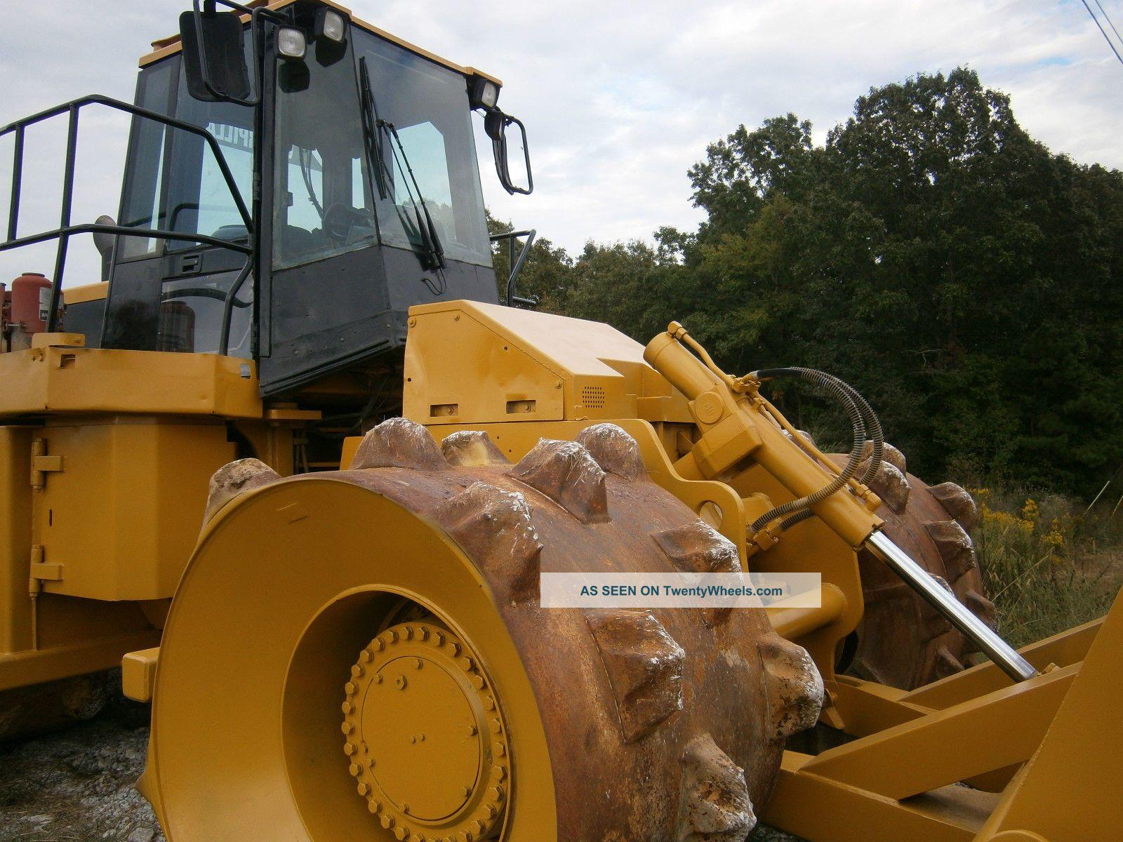 Cat 826g Compactor : G cat landfill compactor