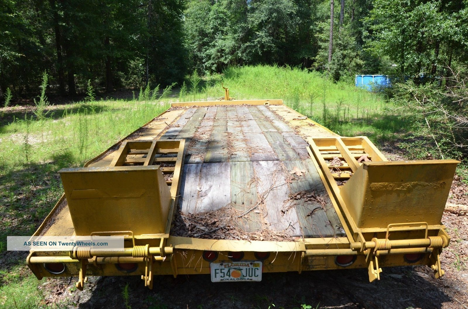 Case 1845c Specs >> Interstate Flatbed Trailer 9 Ton 16. 5 ' Deck
