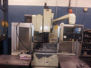 1990 Kitamura Mycenter 2 Cnc Vertical Machining Center Mill Fanuc Control Rigid photo