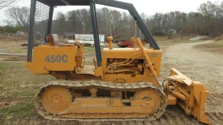 Case 450 Dozer photo