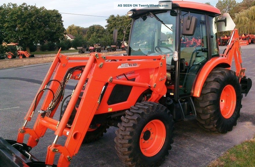 2011 Kioti Rx6010 Cab Tractor W/ Loader  230 Hrs Factory