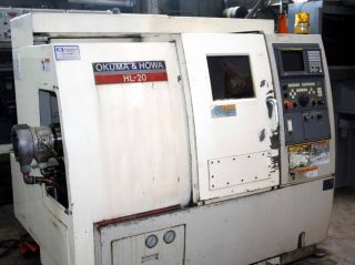 Okuma Howa Model Hl20 2 - Axis Cnc Turning Center photo