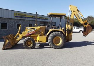 1994 Deere 310d 4x4 Loader Backhoe,  2253 Hours - Stock U301017 photo