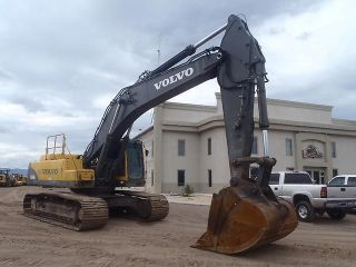 Volvo Ec460blc Excavator Loader Heavy Equipment Construction photo
