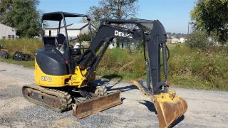2009 John Deere 27d Zts Construction Mini Excavator Backhoe Machine Crawler. . photo