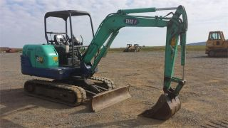 2005 Ihi 35n Mini Excavator Hydraulic Construction Crawler Backhoe Machine. . photo