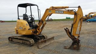 2004 John Deere 35c Zts Construction Mini Excavator Backhoe Machine Crawler. . photo