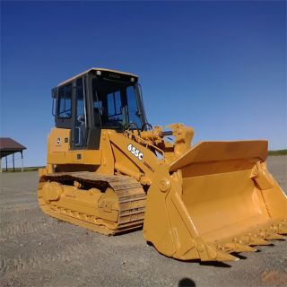 2004 John Deere 655c Track Crawler Dozer Construction Machine Tractor Bulldozer. photo