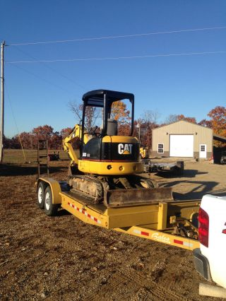 2003 Cat 303cr Mini Excavator photo