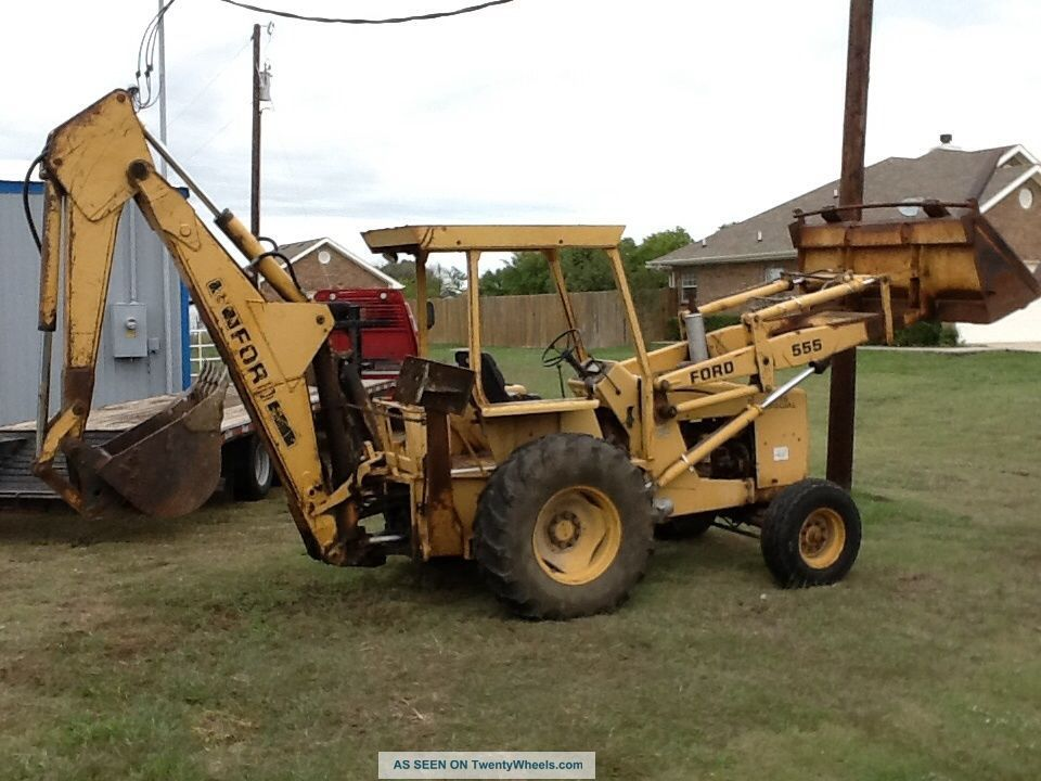 Ford 555 Backhoe Parts Manual : Ford backhoe parts manual