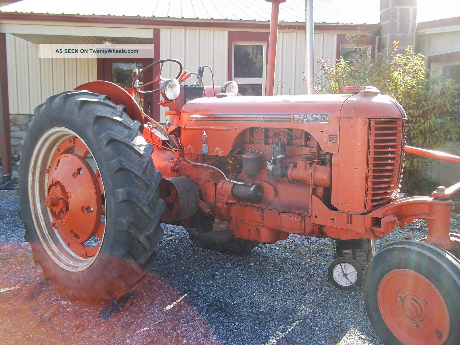 Case Dc - 3 Tractor With Manuals To Settle Estate Other photo