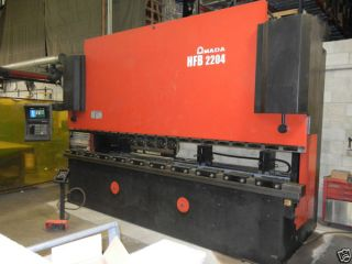 Amada Hfb - 2204 4 Axis Cnc Hydraulic Press Brake 242 Ton 14.  5 ' Great Machine photo