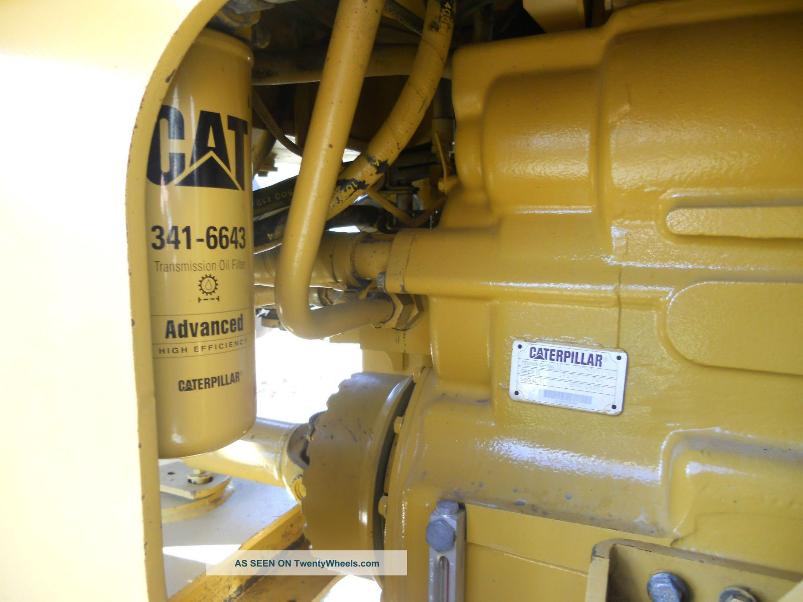 2004 Caterpillar 928g Wheel Loader Strong Runner Rebuilt Transmission