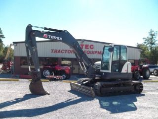 2011 Terex Tc125 Excavator - Loader - Backhoe - Enclosed Cab - photo