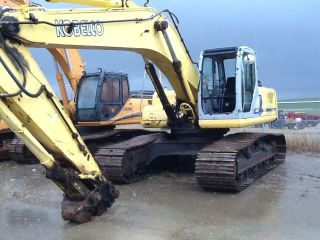 Excavator 290 Kobelco photo