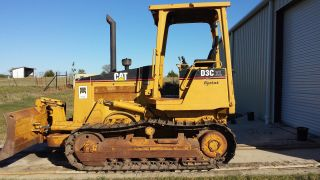 Caterpillar D3c Xl Series Iii Dozer With 6 Way Blade 2000 Yr,  Hystat,  2408.  1 Hrs photo