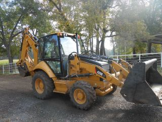 Caterpillar 420it Backhoe (completely Loaded) photo