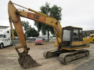 Caterpillar E120b Excavator With Mitsubishi Turbo Diesel photo