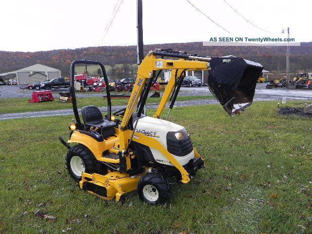 Cub Cadet Compact Tractors : Cub cadet d compact tractor loader quot belly mower