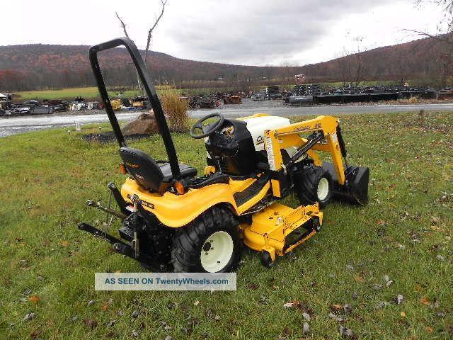 4x4 Cub Cadet Garden Tractors : Cub cadet tractors autos post