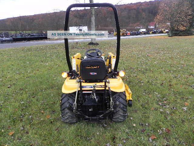 Cub Cadet 3 Point : Cub cadet d compact tractor loader quot belly mower