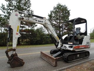 2008 Bobcat 331 - G Compact Mini Excavator Rubber Pads In Mississippi photo