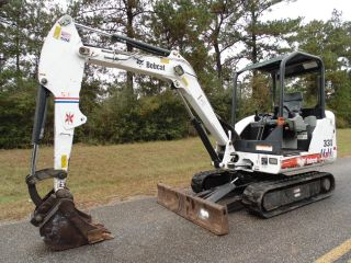 2007 Bobcat 331 - G Compact Mini Excavator Digging Bucket N Mississippi photo
