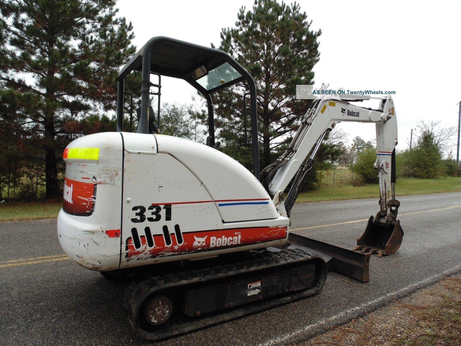 2007 Bobcat 331 - G Compact Mini Excavator Digging Bucket N