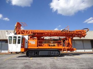Tamrock Sandvik Drilltech D40k 3l Crawler Rock Drill Drilling Rig photo
