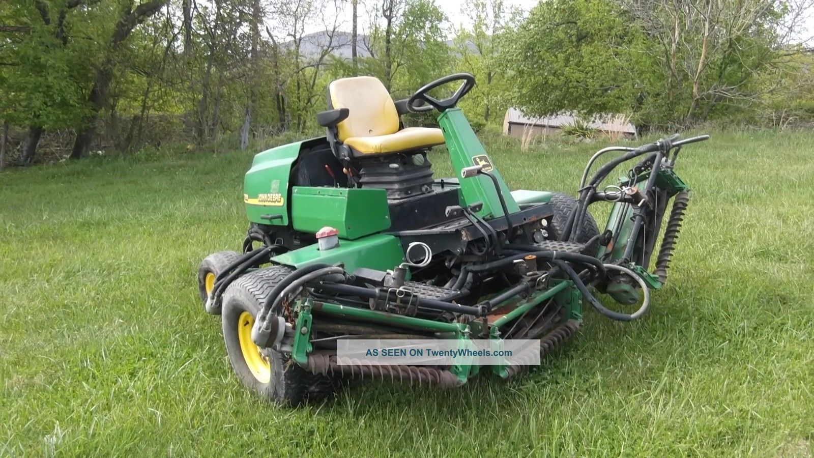 John Deere 3235b Mower Car Interior Design
