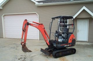 2005 Kubota Kx41 - 3v Mini Excavator Adjustable Tracks Diesel photo