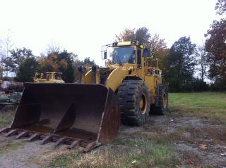 Caterpillar Loader 988f Just Off Jobsite Cat Motor Will Ship Worldwide photo
