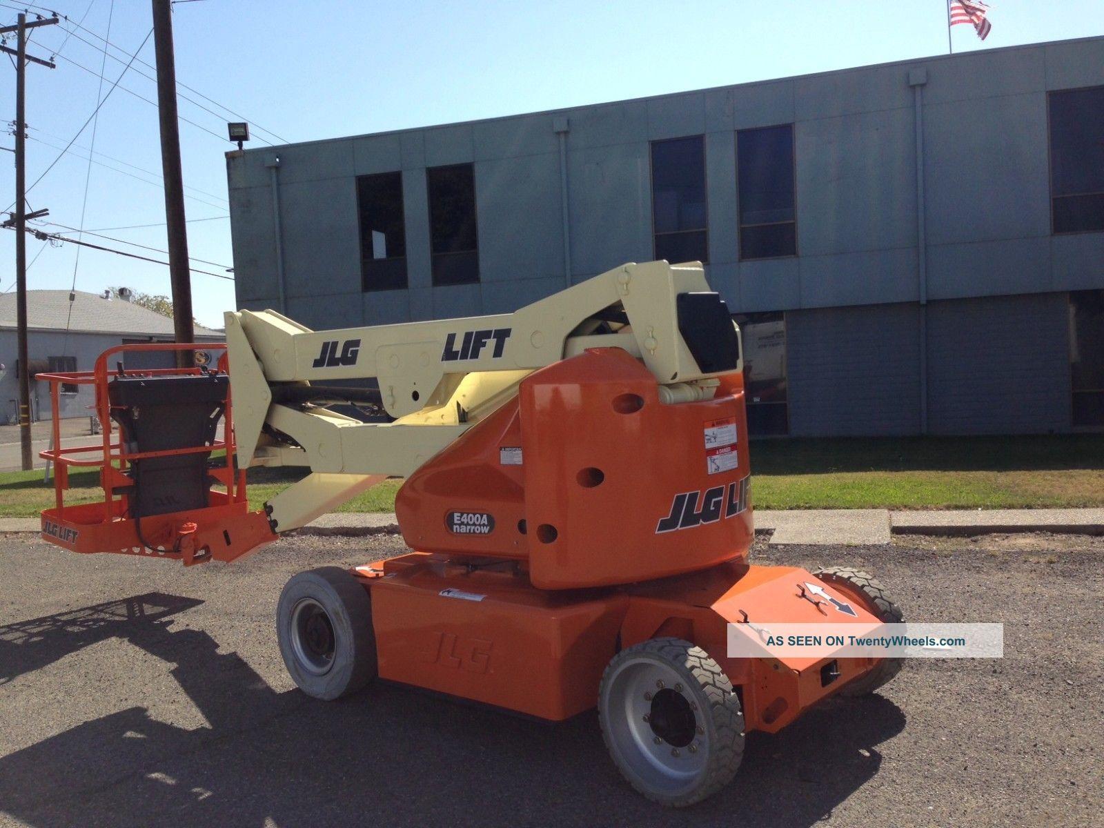 Jlg E400a Narrow Boomb Lift